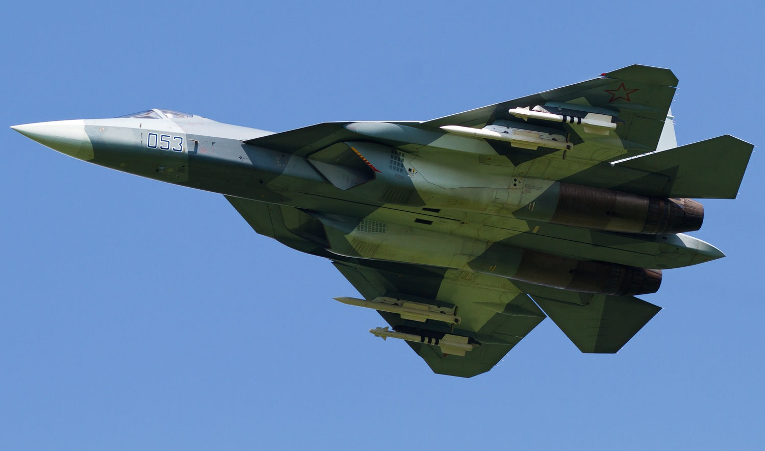 Full Frame Sukhoi Pak Fa Ivan S Badass Stealth Fighter