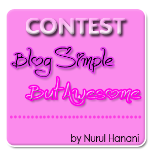 contestblogsimple but awesome