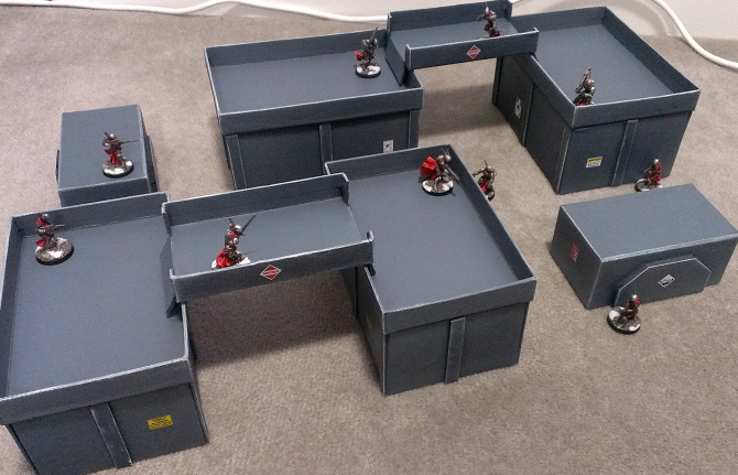 Descent of Angels: Infinity Terrain - Cheap and Easy