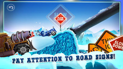 Ice road truck driving race Mod Apk Terbaru