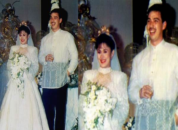 Edu Manzano After Nine Years Of Separation With Vilma Santos Got Married Maricel Soriano Unfortunately They Divorced Year 1991