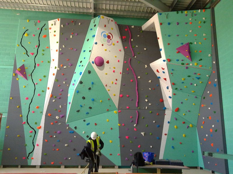 Hinged Climbing Wall
