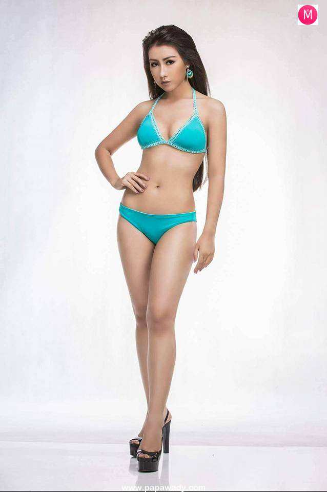 Aye Chan Moe Miss Grand Myanmar Swimsuit Photos Released