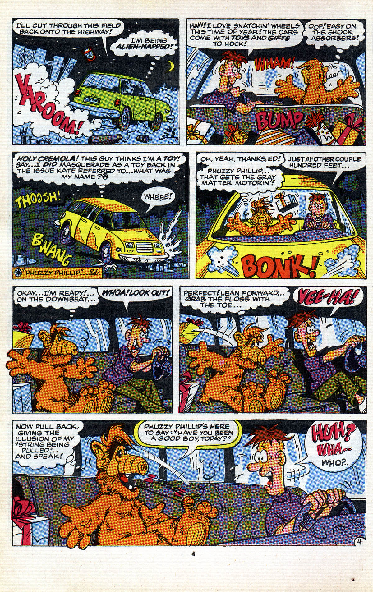 Read online ALF comic -  Issue #2 - 6