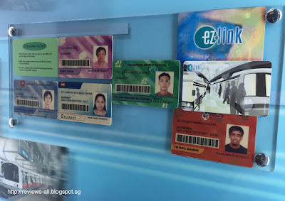 Singapore Land Transport Gallery Different EZ-Link Cards
