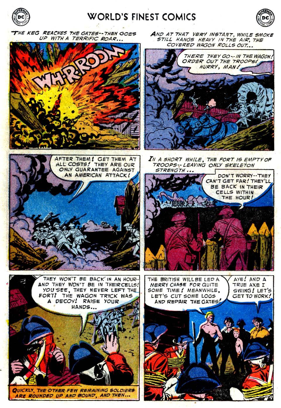 Read online World's Finest Comics comic -  Issue #68 - 24