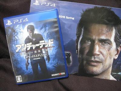 アンチャーテッド4(PS4)買ってきたよ!