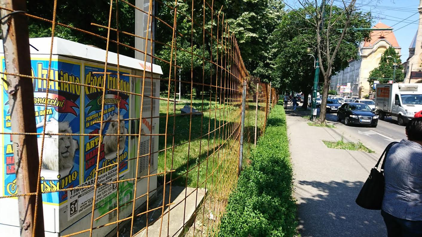 În luna iunie încep lucrările de reamenajare a Parcului Central din Timisoara