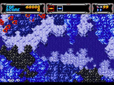 【MD】閃電出擊3(雷霆力量戰機3)原版+全武器Hack版,Thunder Force III!