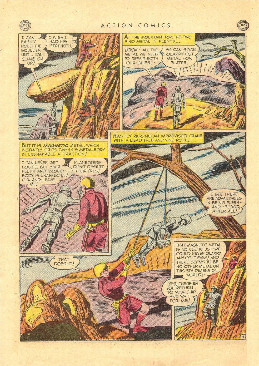 Action Comics (1938) 156 Page 21