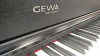 picture of Gewa piano cabinet & control panel