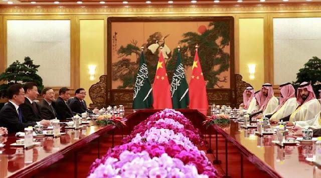 Putra Mahkota Arab Saudi Teken Kerja Sama Rp 140 Triliun di Cina