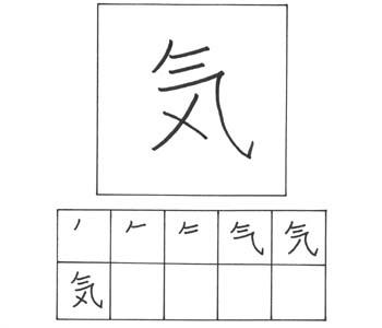 kanji spirit