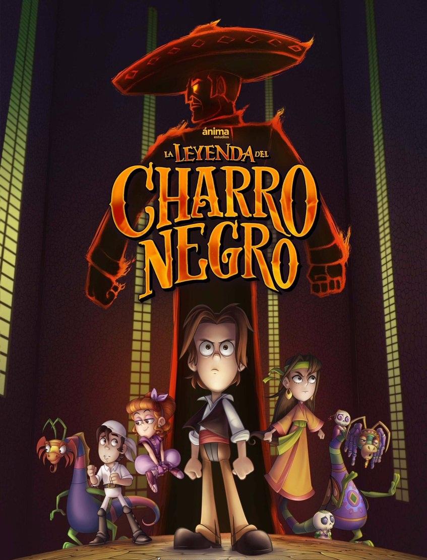 La leyenda del Charro Negro [2017] [DVDR] [NTSC] [Latino]
