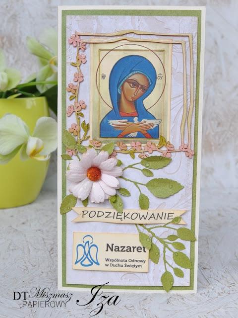 kartka z Matką Bożą