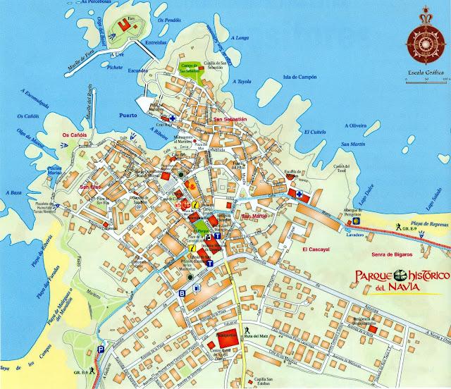 Mapa de Tapia de Casariego