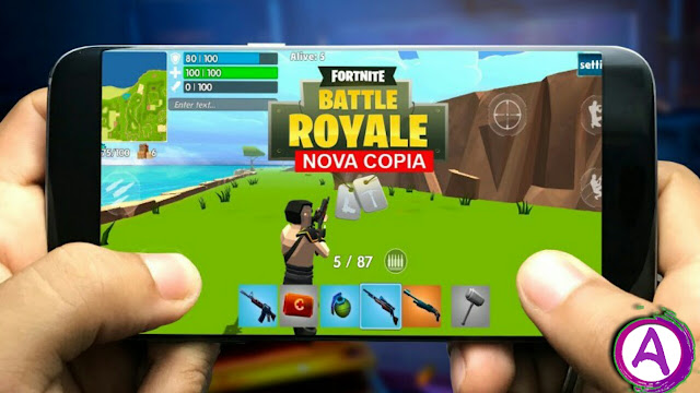 تحميل لعبة Rocket Royale للاندرويد بشبيهة فورت نايت + مهكرة