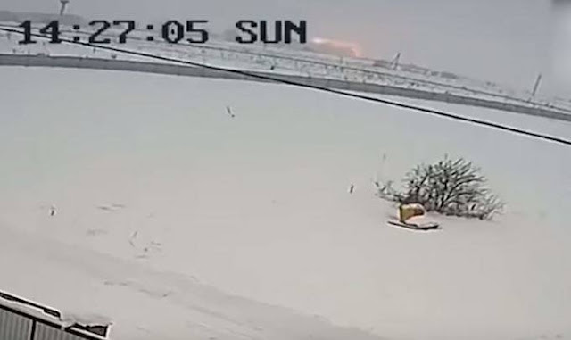 Βίντεο από την στιγμή της συντριβής του ρωσικού αεροσκάφους