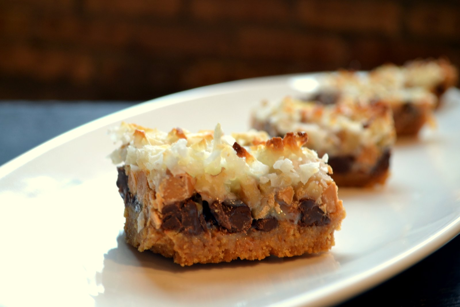 Hardly Housewives Five Layer Bars