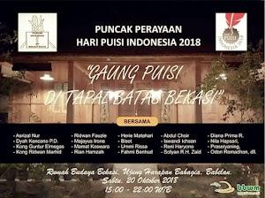 Malam Minggu Seru Di Peringatan Puncak Hari Puisi Indonesia (HPI) Bekasi Raya