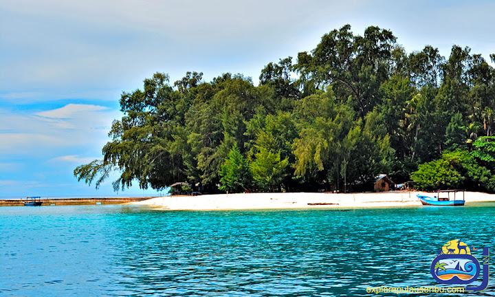 pulau perak di wisata pulau harapan