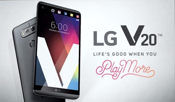 Resmi Diluncurkan , LGV20 Dengan 2 Layar & 2 Kamera Utama