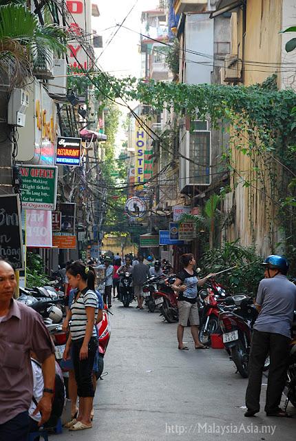 Hanoi Back Lane