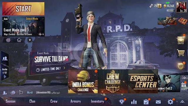 PUBG Mobile Introduces India Bonus Challenge