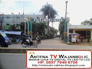Jual ANTENA TV WAJANBOLIC  Cileungsi Bogor-perum cileungsi indah