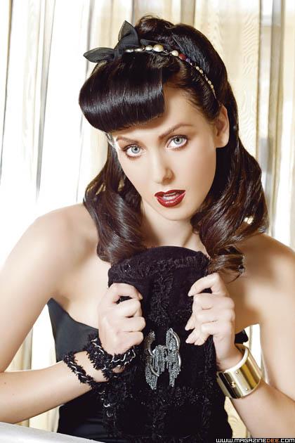 De moda pin up peinados Fotos de las tendencias de color de pelo - Peinados estilo Pin Up | peinados de moda, peinados de novia