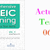 Listening Comprehensive TOEIC Training - Actual Test 06