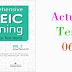 Listening Comprehensive TOEIC Training - Actual Test 06