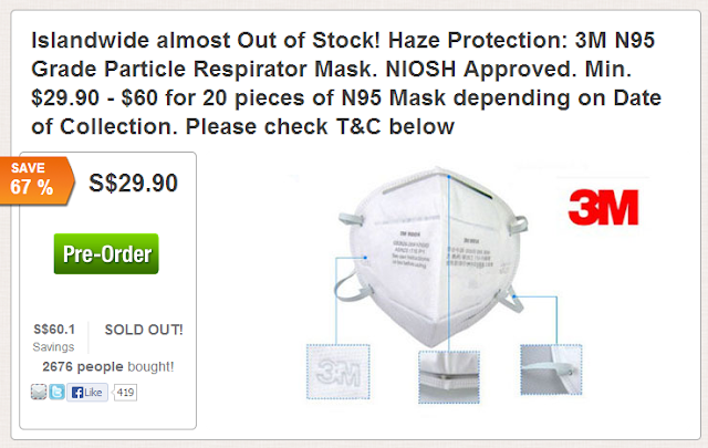 N95 Mask is sold out at online sites