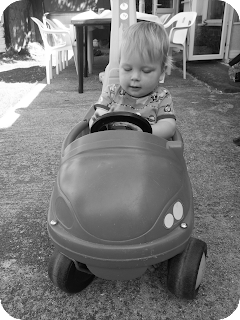 baby car, 13 month old boy