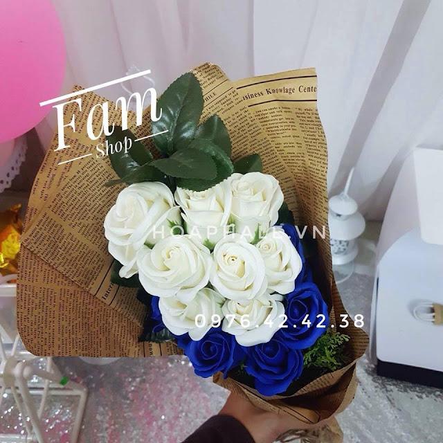 Hoa hong sap thom vinh cuu tai Lang Ha