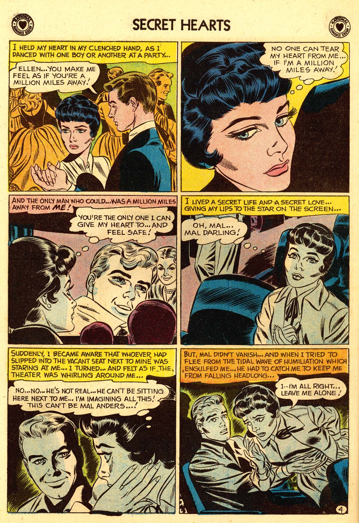 Read online Secret Hearts comic -  Issue #56 - 30