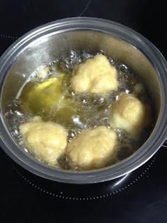 Freir buñuelos 2