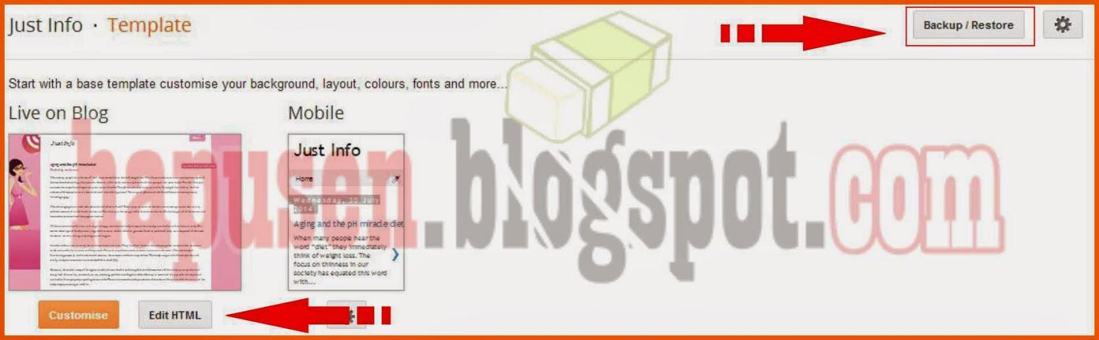 Cara menghapus label pada postingan Blog