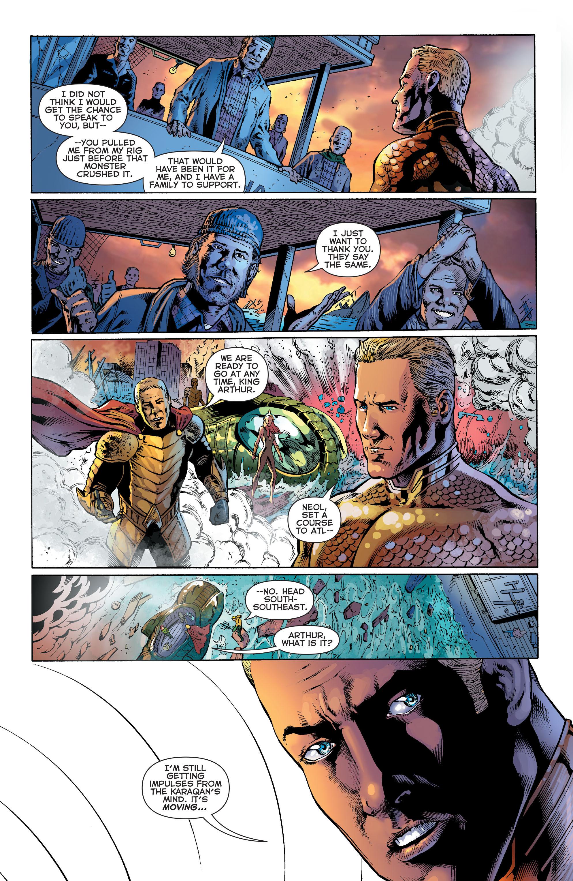 Read online Aquaman (2011) comic -  Issue #27 - 20