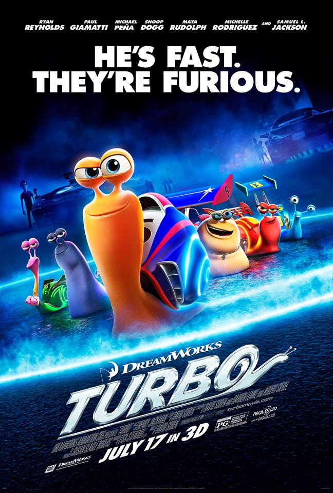 Dreamworks' Turbo He's Fast. They're Furious.