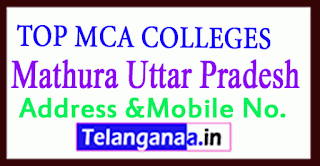 Top MCA Colleges in Mathura Uttar Pradesh