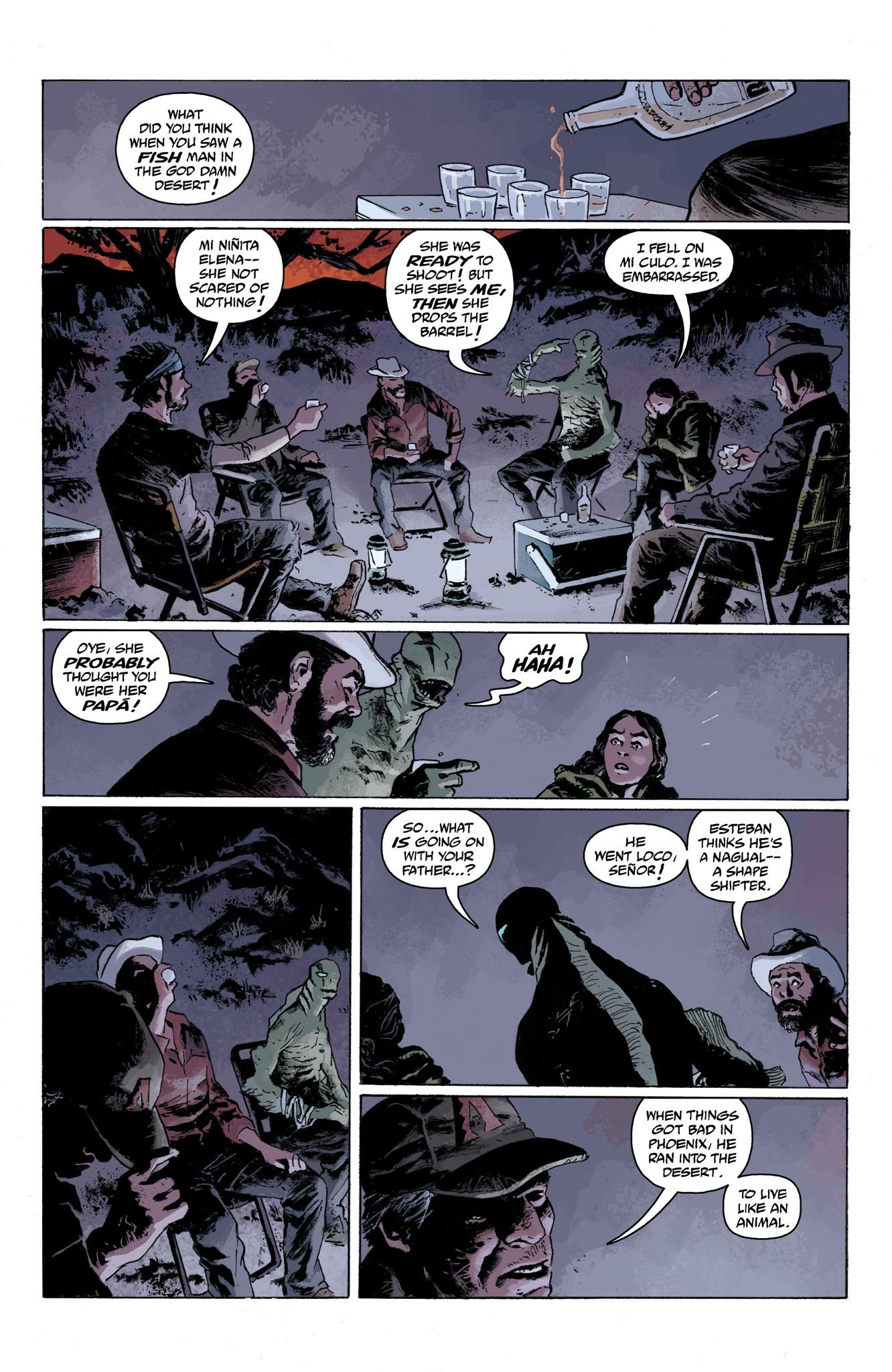 Read online Abe Sapien comic -  Issue #6 - 8