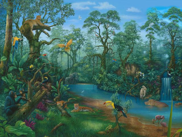 Viidakko tapetti