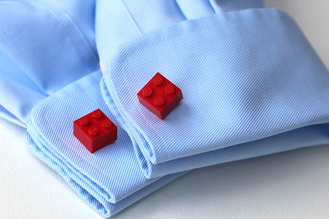 Lego Cufflinks for Father's Day