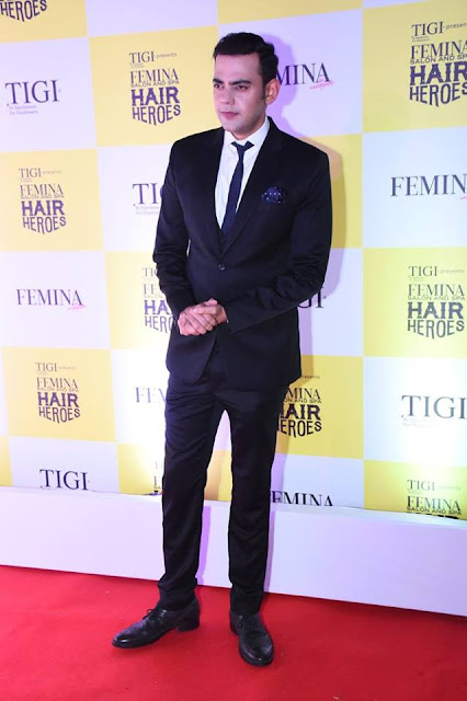 Actor Cyrus Sahukar the host of Femina Salon & Spa Hair Heroes