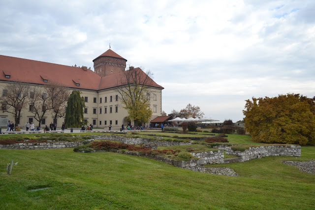 Grounds of Wawel Castle Krakow