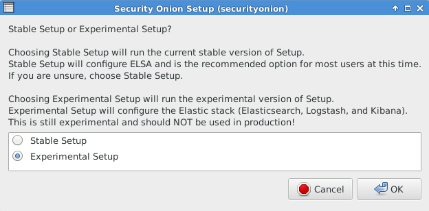 Security Onion: Security Onion Elastic Stack Release