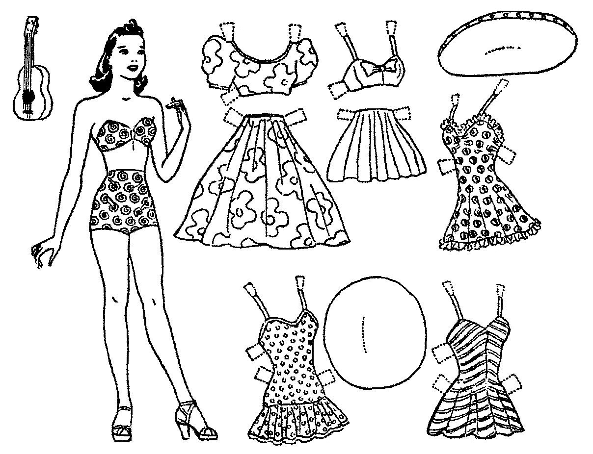 Mostly Paper Dolls Too!: July 2014