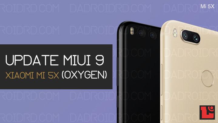 Tutorial lengkap pasang MIUI 9 di Xiaomi Mi 5X dengan