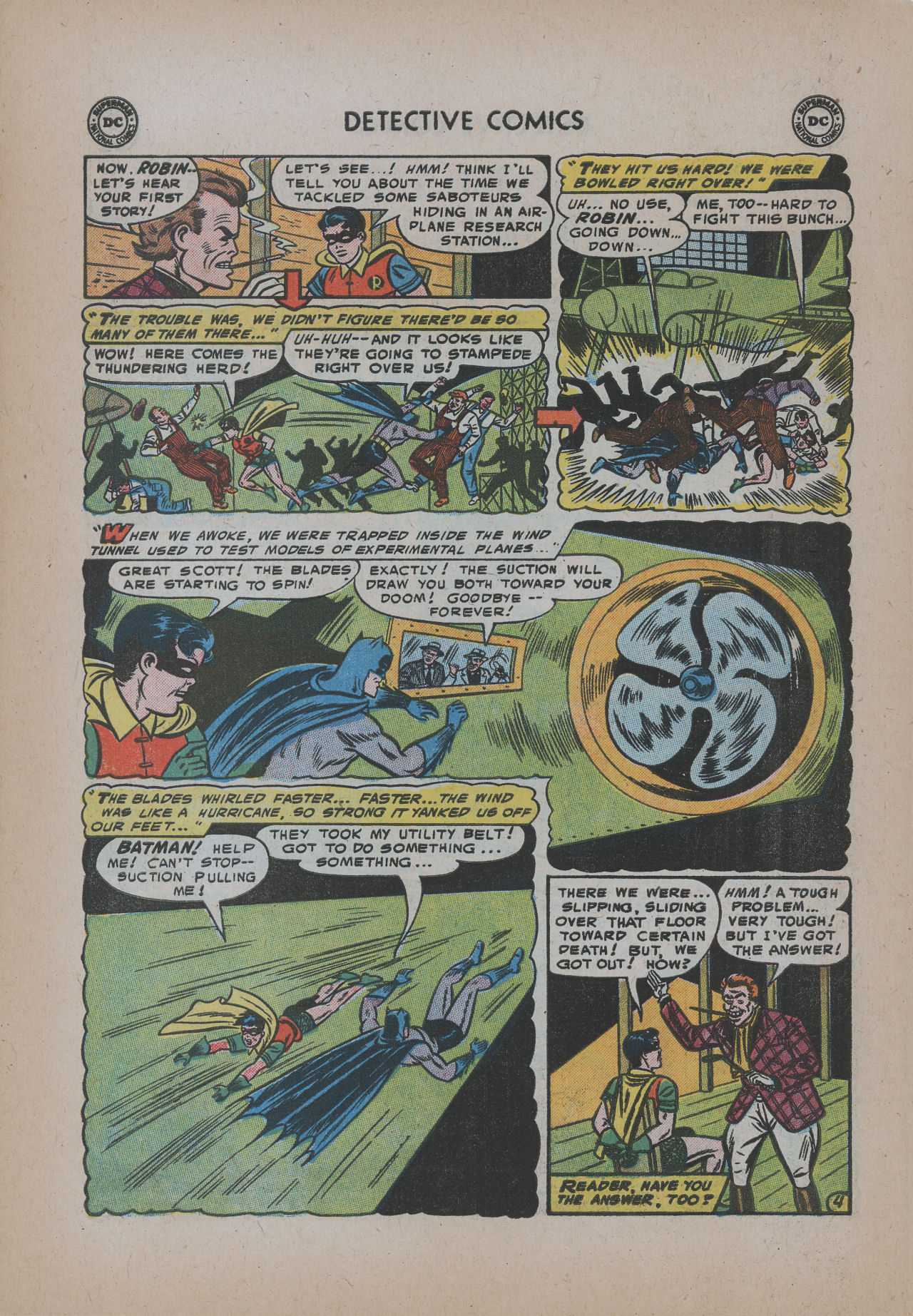 Read online Detective Comics (1937) comic -  Issue #221 - 6